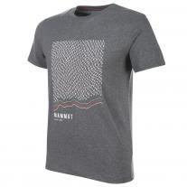 2b3123c50d22 Tričká - krátky rukáv tričko MAMMUT Sloper T-Shirt Men storm melange