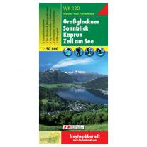 Maps map Grossglockner, Sonnblick, Kaprun, Zell am See