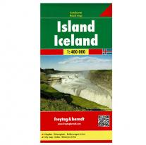 Maps road map Iceland 1:400.000