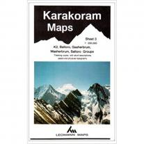 Maps map KARAKORAM - K2, Baltoro, Gasherbrum...