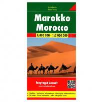 Maps road map Morocco 1:800.000