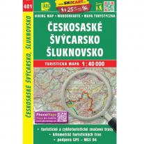 Maps map Bohemian-Saxon Switzerland 1:40.000