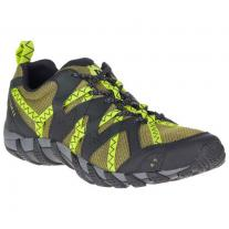 Low boots shoe MERRELL Waterpro Maipo 2 olive/lime