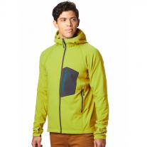 MOUNTAIN HARDWEAR Keele Hoody dark citron