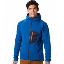 Fleece Jackets MOUNTAIN HARDWEAR Keele Hoody nightfall blue