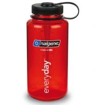 fľaša NALGENE Wide Mouth 1.0 L red