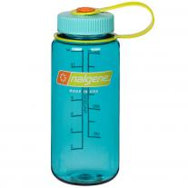Bottles - polycarbonate bottle NALGENE Wide Mouth 0.5 L cerulean