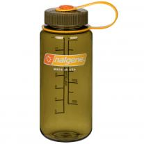 Bottles - polycarbonate bottle NALGENE Wide Mouth 0.5 L olive