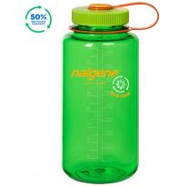Hiking gear bottle NALGENE Wide Mouth Sustain 1.0 L Melon Ball