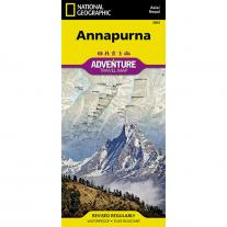 map NATIONAL GEOGRAPHIC - Annapurna