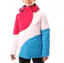 NORTHFINDER Erstain Jacket White/Pink/Blue