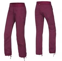 Women´s Climbing Clothing OCÚN Pantera Pants beet red