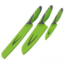 Doplnky na kemping nože OUTWELL Knife Set grey/green