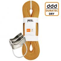 Ropes - single rope PETZL Arial 9.5mm 60m gold + PETZL Verso
