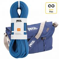Ropes - single rope PETZL Contact 9.8mm 60m + Petzl Kab