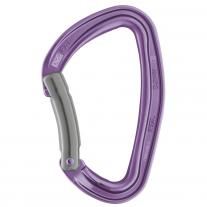 Petzl Carabiners and Quickdraws carabiner PETZL Djinn Bent violet