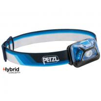 Hiking gear headlamp PETZL Tikka Core Blue