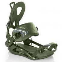 Snowboard Bindings binding RAGE Private FT 540 olive