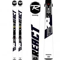 skis ROSSIGNOL React RT Compact + Look Xpress 11 GW
