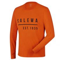 SALEWA Binne CO M L/S Tee rusty rock