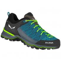 Low boots shoes SALEWA MS MTN Trainer Lite malta/fluo green