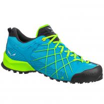Salewa Brand Shop shoes SALEWA MS Wildfire blue danube/fluo green
