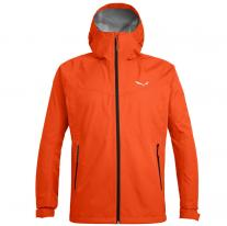 Salewa Brand Shop SALEWA Puez Aqua 3.0 PTX M JKT Red Orange