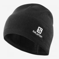 SALOMON Beanie Black