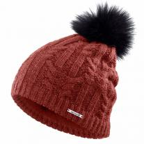 SALOMON Ivy Beanie Madder Brown