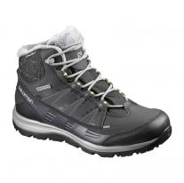 shoe SALOMON Kaina CS WP 2 black/asphalt/flashy-x
