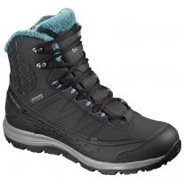 Hiking boots shoe SALOMON Kaina Mid GTX phantom/black