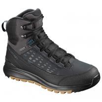 Vysoké boty boty SALOMON Kaipo Mid GTX black phantom 37326a8bba6