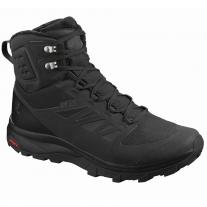 Outdoor shoes shoes SALOMON Outblast TS CSWP Black