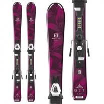ski SALOMON QST Lux JR + C5 J75