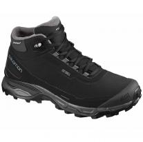 Hiking boots shoes SALOMON Shelter Spikes CS WP Black/Ebony