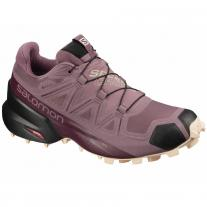 shoe SALOMON Speedcross 5 GTX W flint/black/bellini