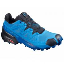 shoes SALOMON Speedcross 5 GTX Blue Aster