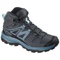 shoe SALOMON X Radiant Mid GTX W Ebony/Bluestone