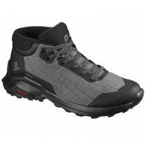Outdoor shoes shoes SALOMON X Reveal Chukka CSWP Black/Gargoyle