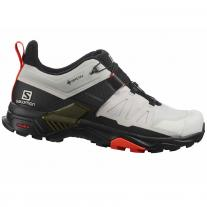 shoes SALOMON X Ultra 4 GTX Lunar Rock/Black