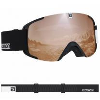 goggle SALOMON Xview Access black-white