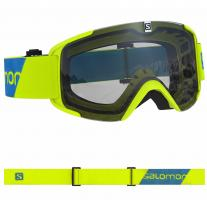 goggle SALOMON Xview Access neon yellow