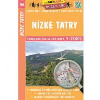 Maps map SHOCart: Low Tatras 1:25 000