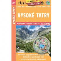 Maps map SHOCart: High Tatras 1:25 000