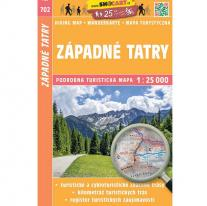 Maps map SHOCart: West Tatras 1:25 000