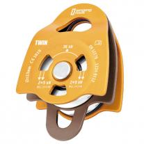 Pulleys SINGING ROCK Twin Roll Pulley orange