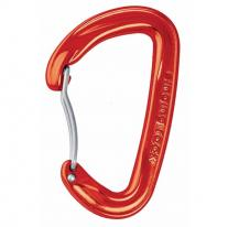 carabiner SINGING ROCK Vision Bent Red