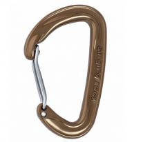 carabiner SINGING ROCK Vision Straight Brown