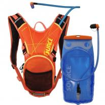 backpack SOURCE Pulse 2L Orange/Yellow