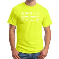 Gifts T-Shirt SPORT-OUTDOOR.SK Logomania Lime